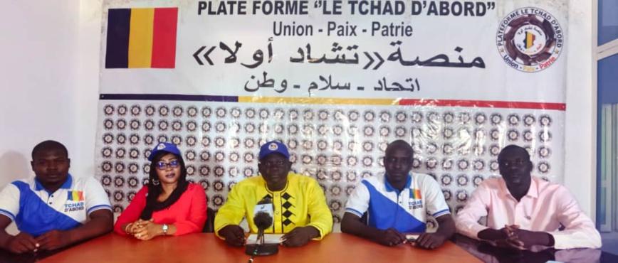 """Désignation du CNT : """"Le Tchad D'abord"""" salue un """"progrès significatif"""""""