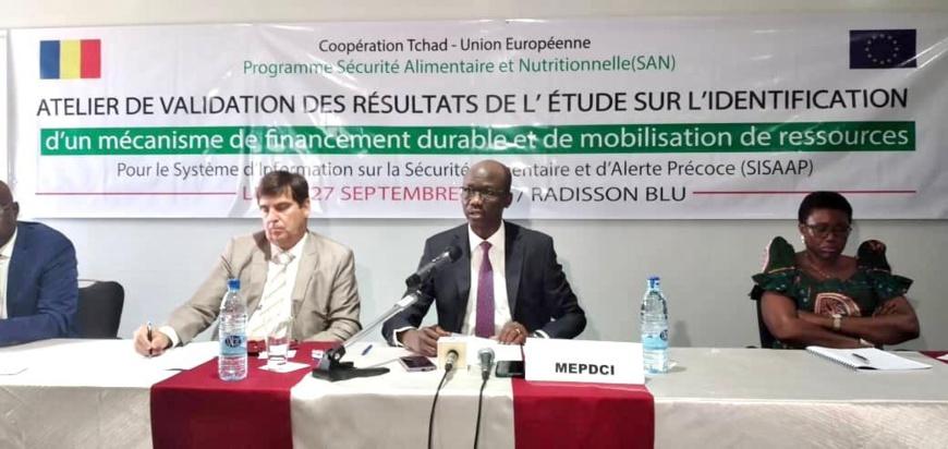Tchad :  renforcement du dispositif d'alerte précoce sur la sécurité alimentaire