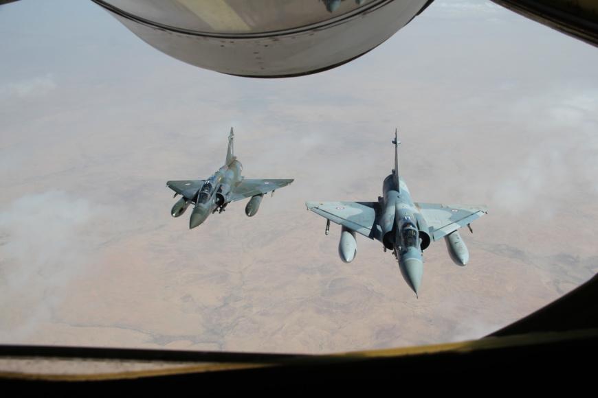 Des avions militaires français. © État-major des armées  Droits : Ministère de la Défense
