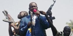François Bozizé lors d'un meeting à Bangui peu avant son éviction du pouvoir par la Séléka. Crédit photo : Sources