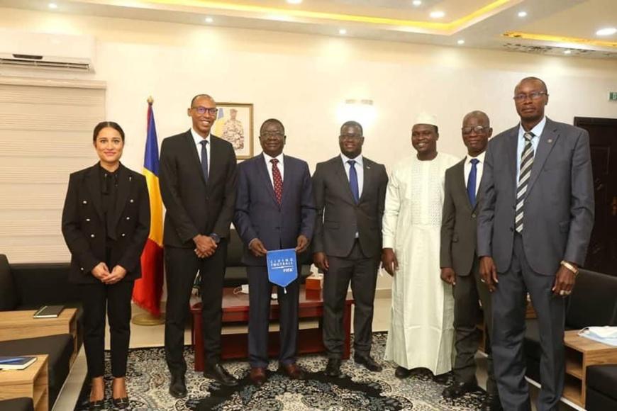 Tchad : une délégation FIFA-CAF rencontre le Premier ministre
