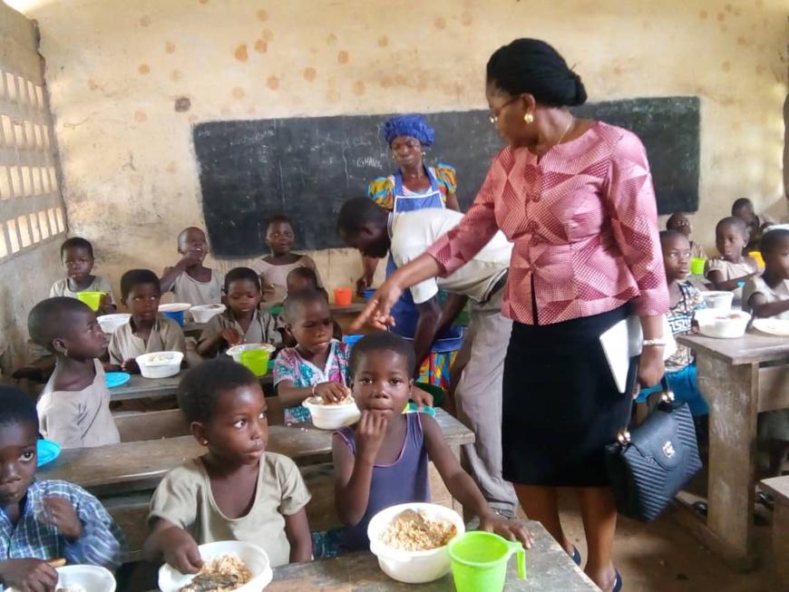 Togo : le programme d'alimentation scolaire a bénéficié à 475 écoles