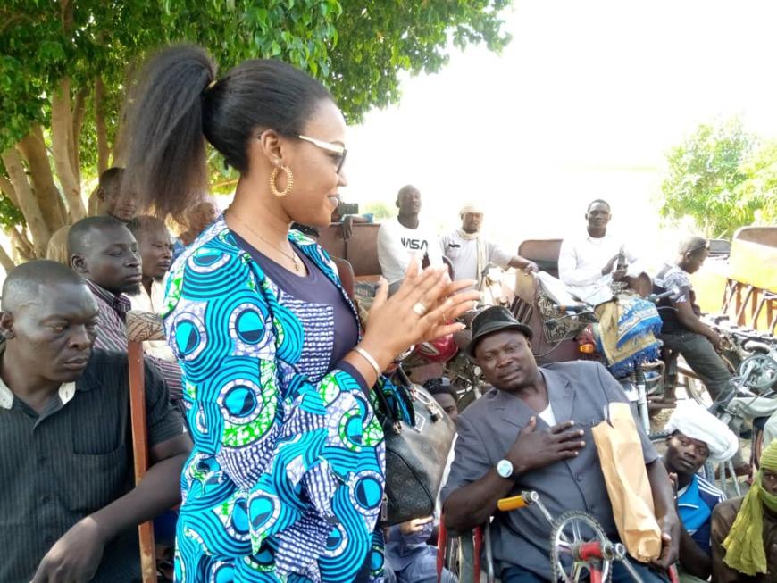 Tchad : 52 handicapés assistés par le ministère de la Femme
