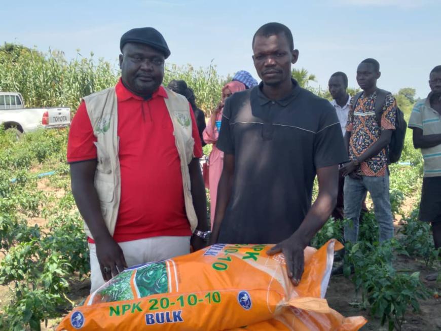 Tchad : au Logone Occidental, le groupement agricole Mekoloum se positionne dans le maraîchage