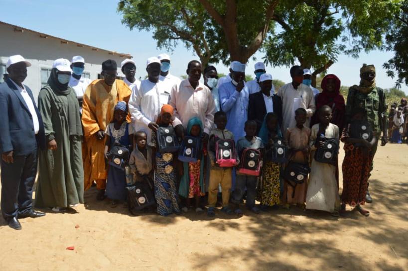 Tchad : l'ONG Al Nahda inaugure une école à Koundoul