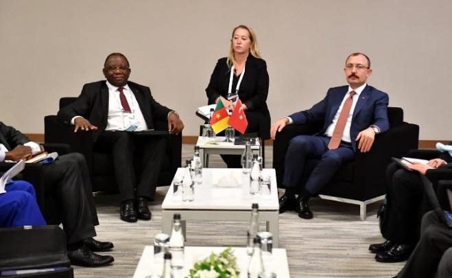 le Cameroun représenté par son ministre du Commerce