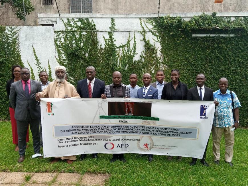 le plaidoyer de l'ACAT pour la ratification de l'OP2 visant l'abolition de la peine de mort