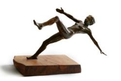 La chute. Crédit photo : Jean-Baptiste Martin, sculpteur.