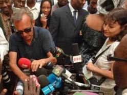 Claude Verlon et Ghislaine Dupont à Kidal au Mali, en juillet dernier. RFI