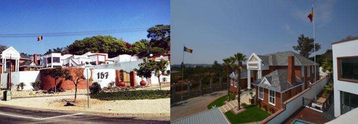 L'Ambassade du Tchad à Pretoria.