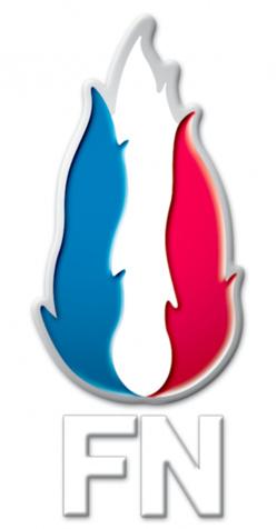 Logo du Front National. Crédit photo : Sources