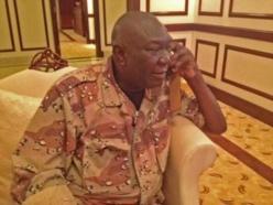 Michel Djotodia, Président centrafricain de la Transition. Crédit photo : RFI/Cyril Bensimon