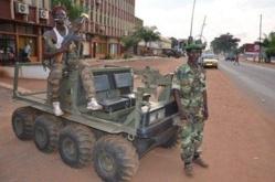 Des soldats de la Séléka. Crédit photo : Sources