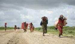 Des réfugiés somaliens, après le passage du cyclone tropical. | AP/Tobin Jones