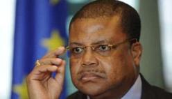 Le Premier ministre centrafricain, Nicolas Tiangaye, le 22 avril 2013 à Bruxelles. © AFP