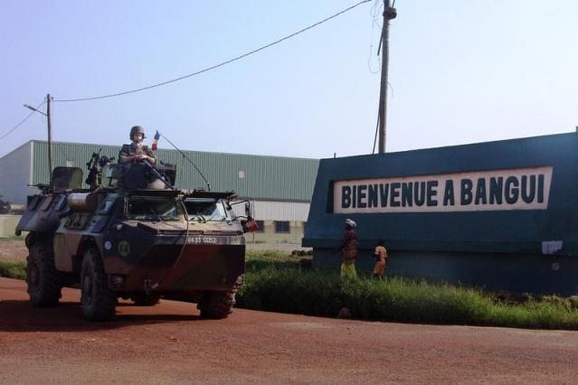 Des soldats français en Centrafrique © reuters - 2013