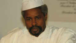 L'ex-dictateur Hissein Habré. Crédit photo : Sources