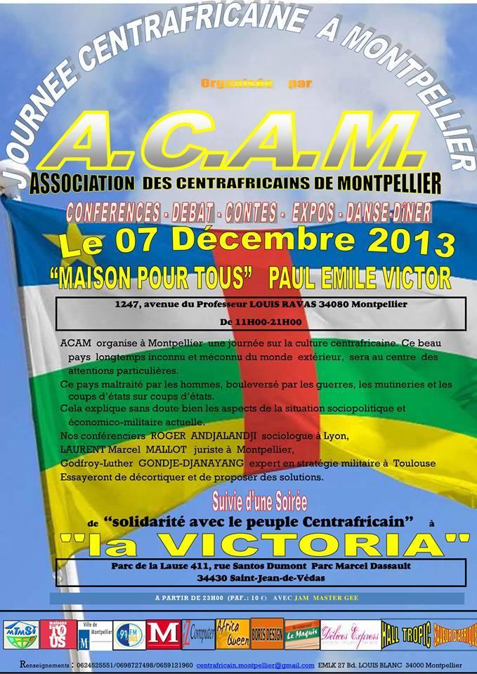 France : Les centrafricains organisent une journée culturelle