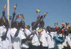 Des lycéens lors de la fête de l'Indépendance du Tchad. Crédit photo : Journaldutchad.com