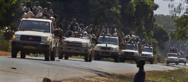 L'armée tchadienne en renfort en Centrafrique. Crédit photo : © Sipa / Sipa