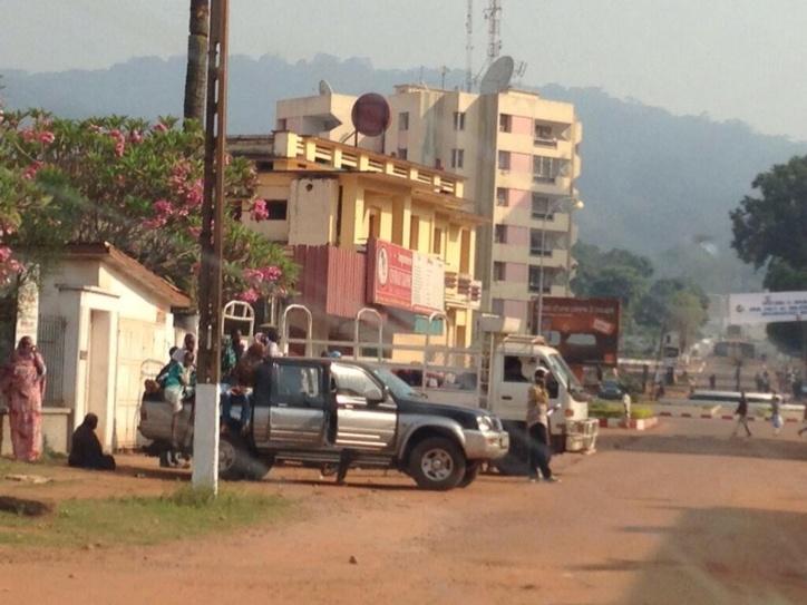 L'ambassade du Tchad en Centrafrique évacue ses ressortissants. Crédit photo : @mikaanthonyy