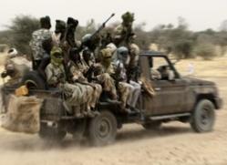 Un pick-up de l'armée tchadienne. Photo non datée. Crédit photo : Sources.