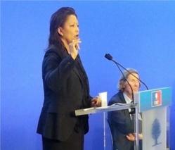 L'ex-ministre Marie-Reine Hassen. Crédit photo : Sources