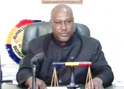 Le Procureur de la République de N'Djamena. Crédit photo : Sources
