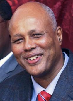 Abdiweli Sheikh Ahmed, Premier ministre somalien. 12 décembre 2013. Crédit photo : Voanews.com