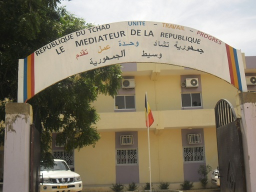 Le siège de la Médiature de la République du Tchad. Photo : Mediaturetchad.com