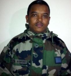 KONGBO Elmar-Marcia, Commissaire Commandant de l'armée de terre.