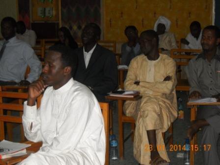 La CAMOJET tient son assemblée générale ordinaire à N'Djamena. © Alwihda Info/MR