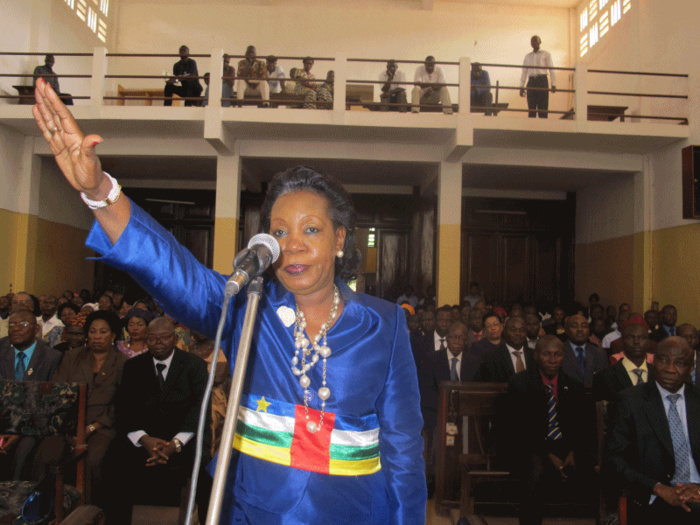 Catherine Samba Panza. Crédit photo : Sources