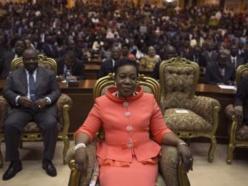 Catherine Panza-Panza est désormais officiellement présidente de la Centrafrique. REUTERS/Siegfried Modola.