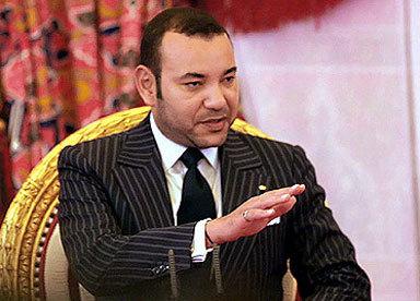 Le roi du Maroc. Crédit photo : Sources