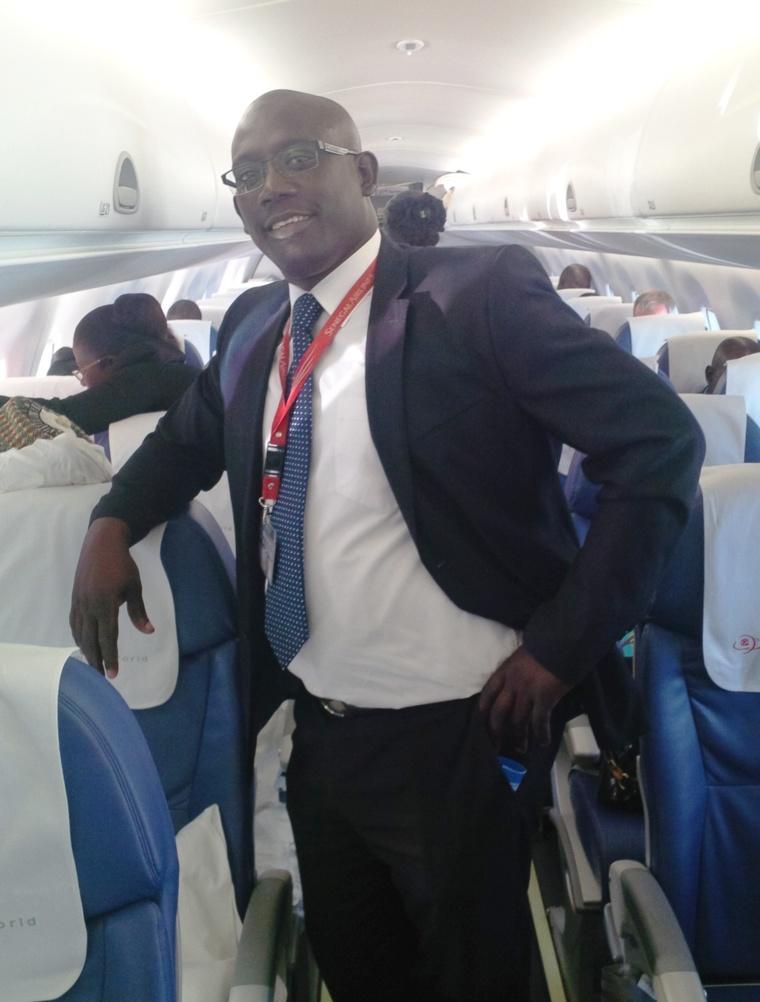 Abdoul Aziz NDAO responsable du système d'information de Sénégal Airlines