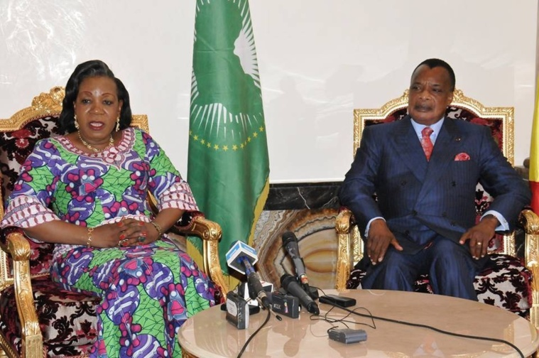Congo-RCA : Séjour de travail de Cathérine Samba-Panza à Brazzaville placé sous le signe de la gratitude