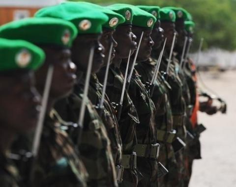 Des soldats de la force africaine, MISCA en Centrafrique. Crédit photo : Sources
