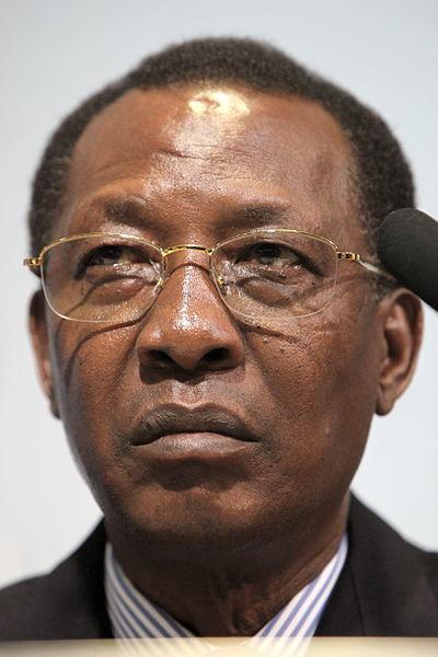 Le Président Idriss Déby. Crédit photo : Wikipedia