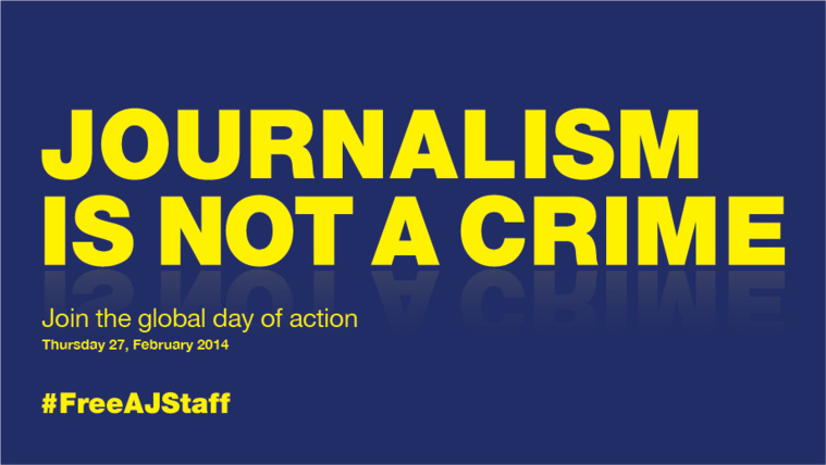 #FreeAJStaff action to hit 30 countries on Thursday