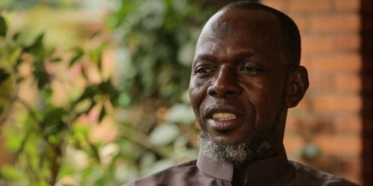 L'imam Kobine, président de la communauté islamique de Centrafrique. Photo : Thomas Vampouille / Metronews