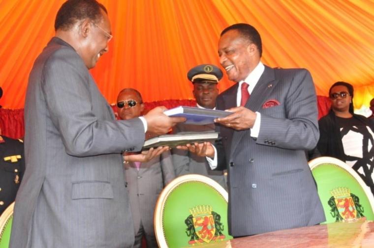 Institutions sous-régionales d'Afrique: Deby et Sassou signent la convention de transfert du FiPAC à la CEEAC