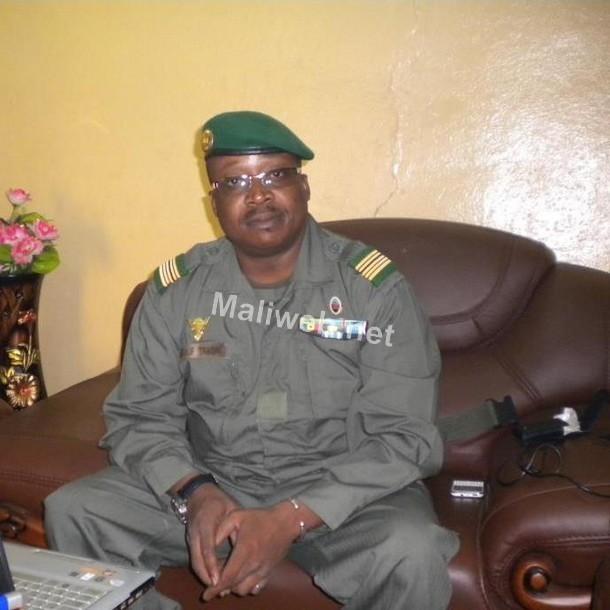 Le Colonel Youssouf Traoré.