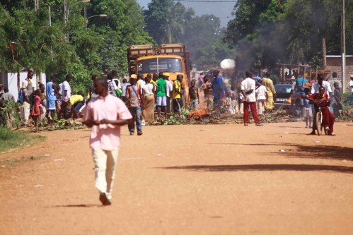 Bangui : Violents affrontements à KM5, plusieurs morts