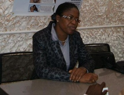 Mme Antoinette Montaigne. Photo : © Centrafrique Expertise