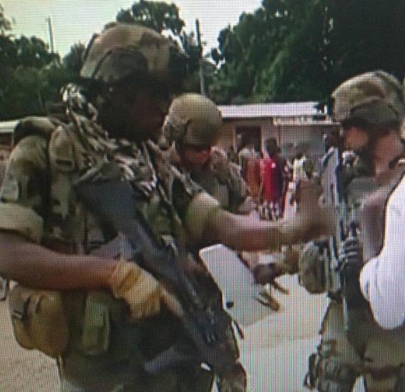 Bangui : Altercation entre soldats français et africains