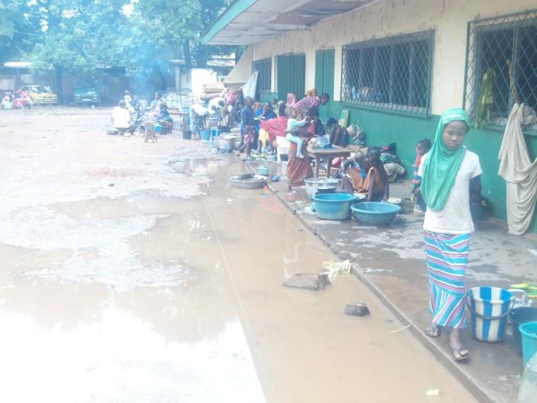 """Centrafrique : Le reportage dans le Km5 dit """"couloir de la mort"""""""