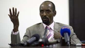 Abakar Sabone, en décembre 2013 à Bangui. © AFP/Miguel Medina
