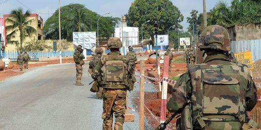 Des soldats français en Centrafrique. AFP/SIA KAMBOU