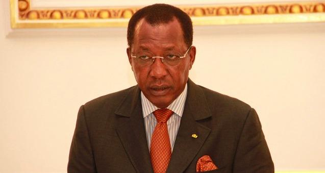 Le Président Idriss Déby. PHOTO: FOTOS DE FRANCISCO MIUDO